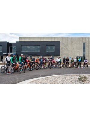 And yes, the men and women at ENVE do ride, thank you very much