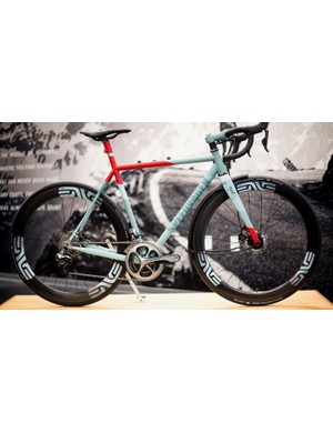 ENVE enjoys showing off its wares on the machines of other high-end crafters