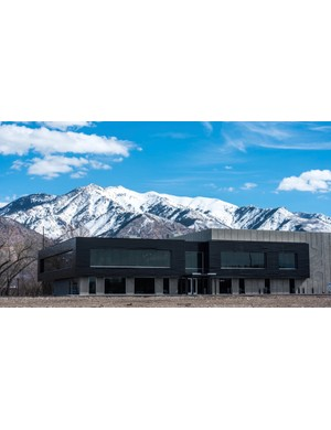 The new 73,000-square-foot home of ENVE, in Ogden, Utah