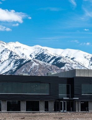 The new 73,000-square-foot home of ENVE, in Ogden, Utah
