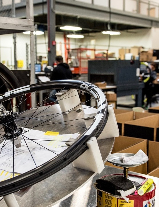 ENVE has 34 different quality control checks