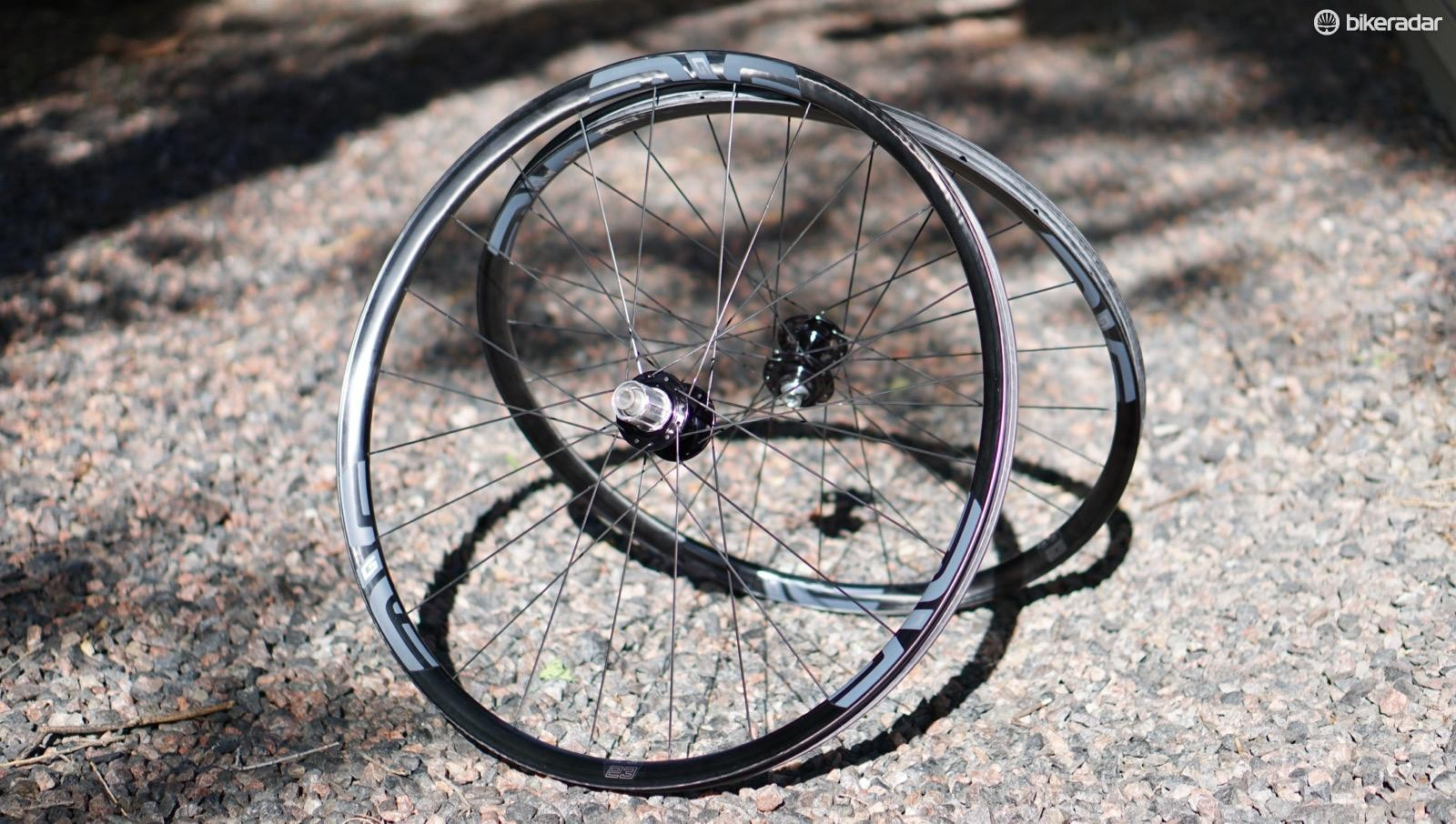 ENVE's new G23 wheels aren't rebadged cross-country hoops, but instead are dedicated wheels that are much softer vertically than XC race wheels