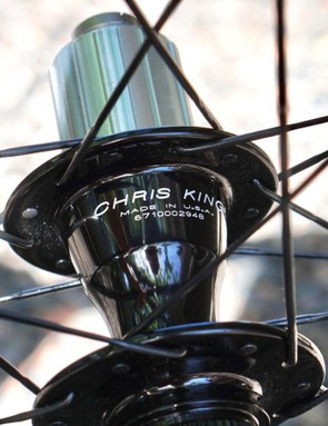 The G23s come with Chris King or DT Swiss hubs