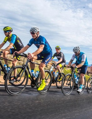 My colleague Jamie Wilkins (Procycling) and I first tested the wheels in Arizona, then took them home to England and Colorado, respectively