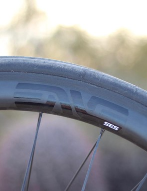 The rims got wider (21mm internal/~29mm external) for better aerodynamics when paired with 25mm tires