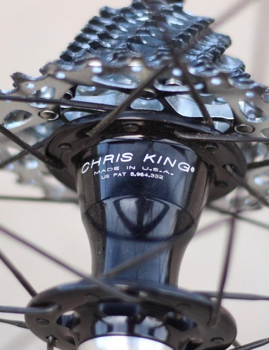 You have three hub choices: ENVE, DT Swiss 240 or this Chris King R45