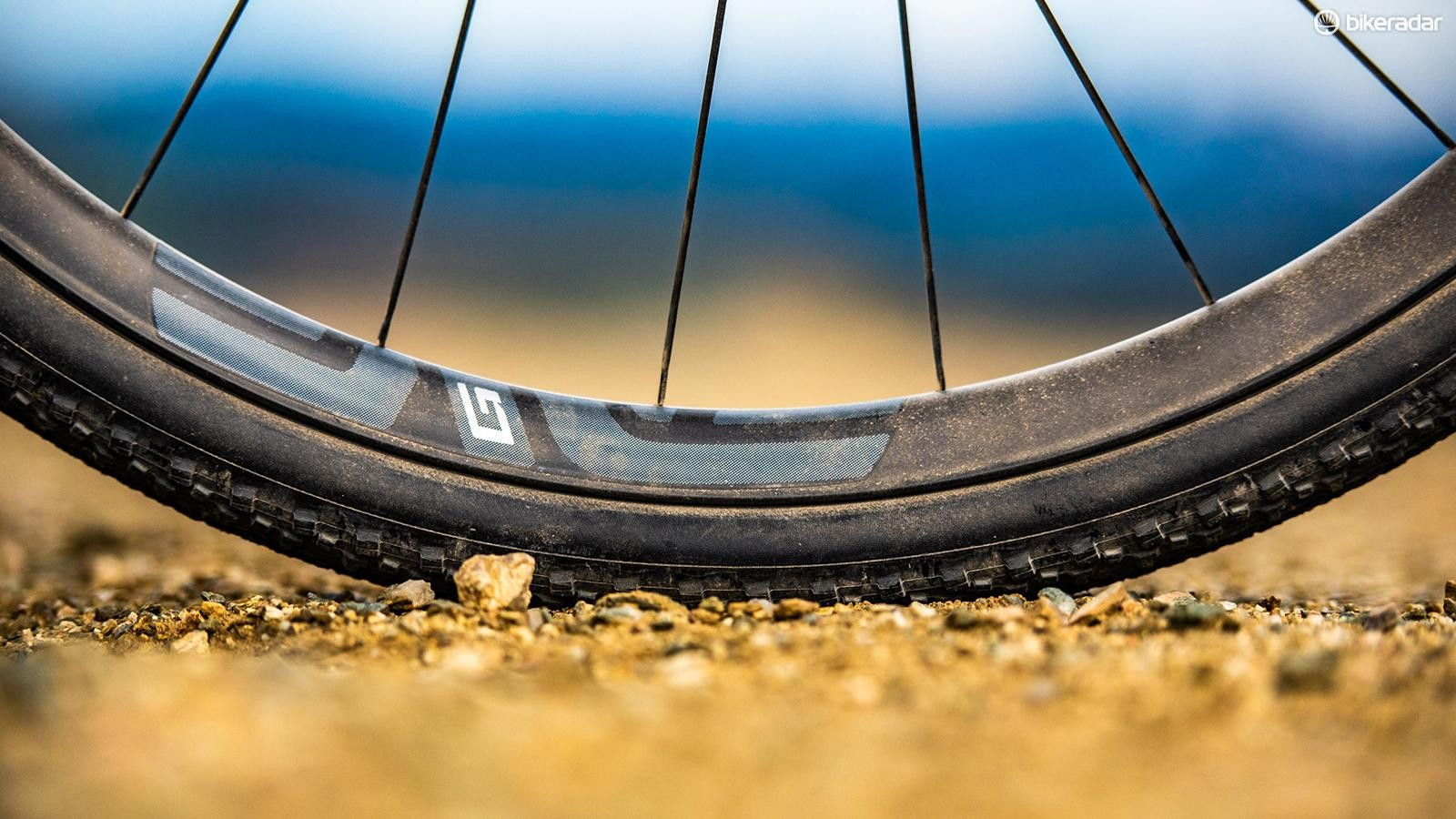 These new 700c and 650b rims are designed with more vertical compliance than ENVE's mountain bike rims