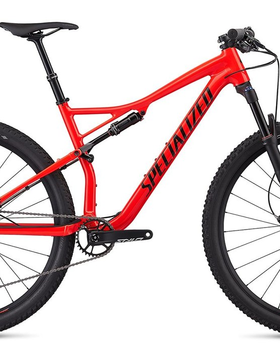 Specialized Epic EVO Comp Alloy in Rocket Red/Tar Black