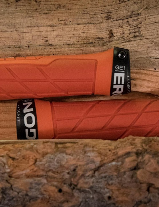 The Ergon GE-1 Slim grips are designed for riders who generally wear small to medium gloves