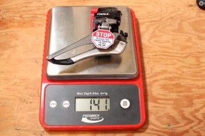 Add 24g for the battery and subtract 3g for the protective red cover and you have 162g, well under the claimed weight of 187g