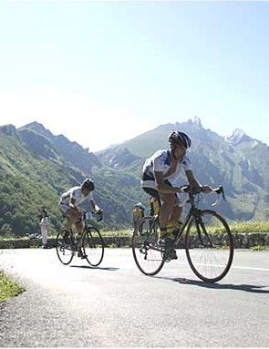 Thousands of cyclists will race from Pau to Hautacam.