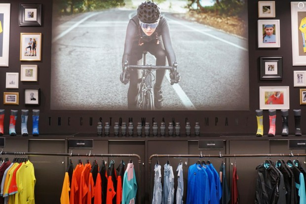 Gobik was but one of dozens of clothing brands exhibiting at Eurobike