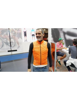 Over at Sportful, the forthcoming Fiandre Strata Jacket uses a similar idea with a semi-integrated windblock layer