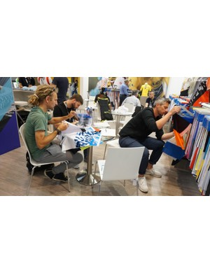 Eurobike is more than just consumer-facing brands. Many exhibitors are vendors to the brands you are familiar with