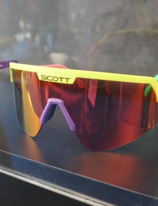 Loud and large shades? Yeah, Scott was there too. This is the 1988 Sportshield