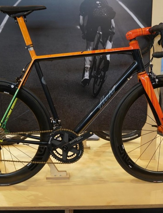 ENVE uses the works of small builders to showcase its products. This is Field from Sheffield