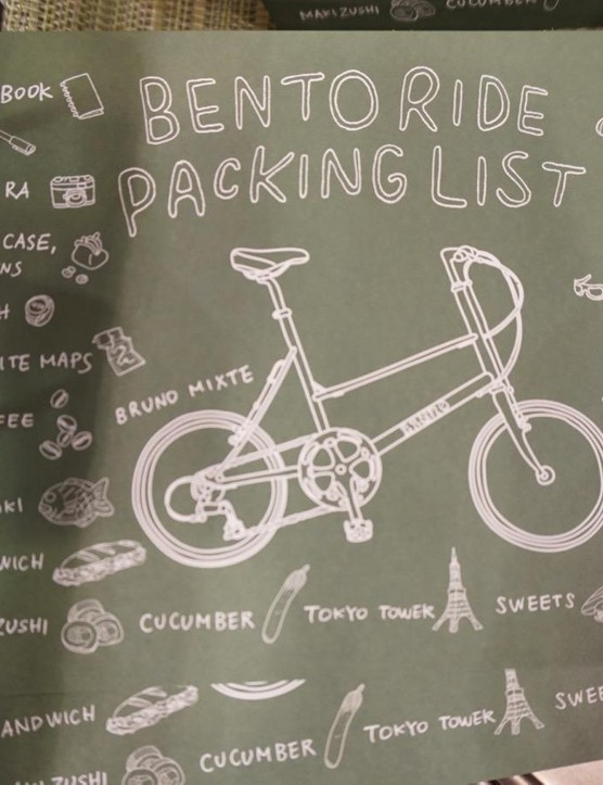 A few packing suggestions from the folks behind Bruno Mixte