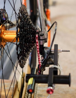 Tune's Linientreu brings laser precision to gear adjustment, literally