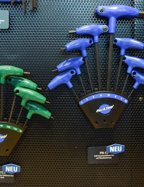 Park Tool has added a number of tools to its range, including new versions of its P-handle hex and Torx wrenches