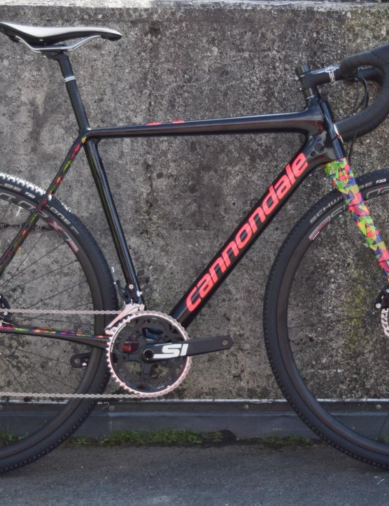 The Cannondale Super X has an awesome paintjob
