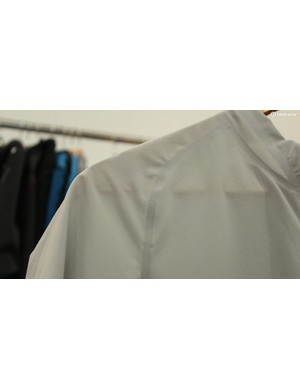The Highline jersey is paper-thin, with welded seams and laser-cut openings
