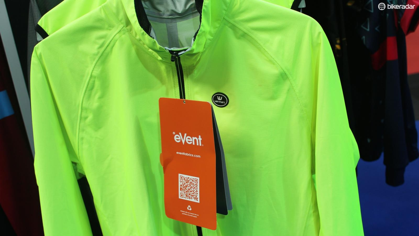 Vermarc is one of a few brands with an eVent rain jacket