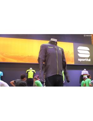 Sportful's Stelvio jacket won a Eurobike award