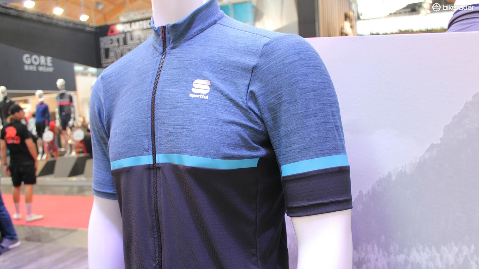 Sportful's gravel jersey, the Giara