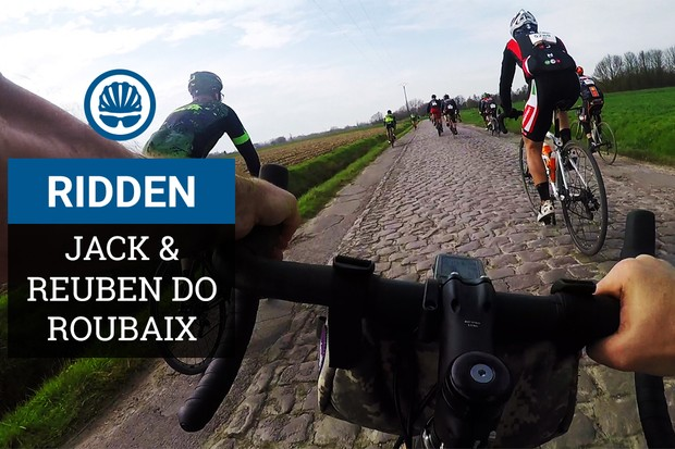 We had a blast riding the Paris Roubaix Challenge