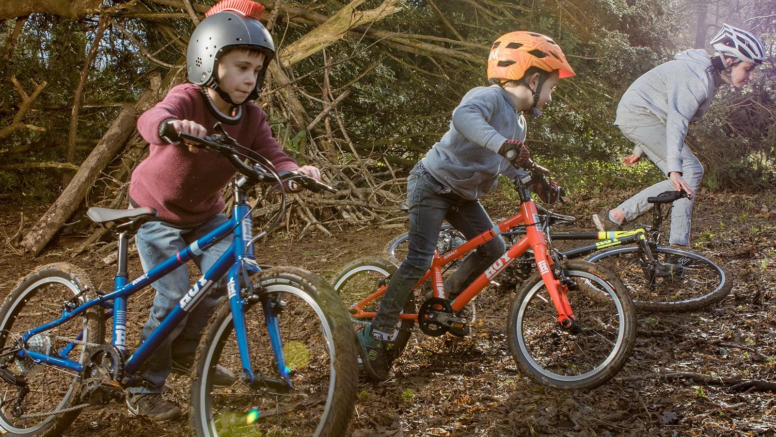 The new HOY Bikes range of kids' bikes