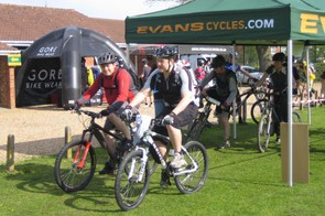 Ride It! riders at the Woking event