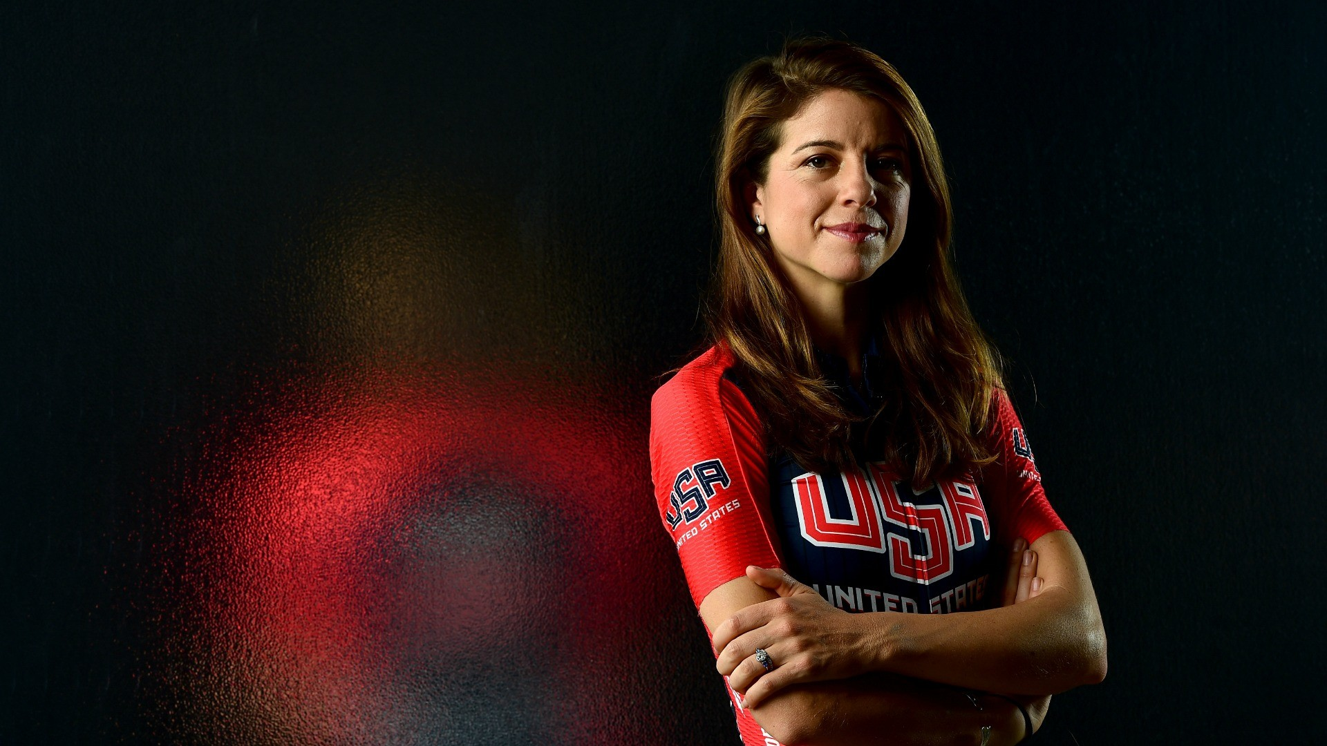 US rider Evelyn Stevens holds the current women's hour record