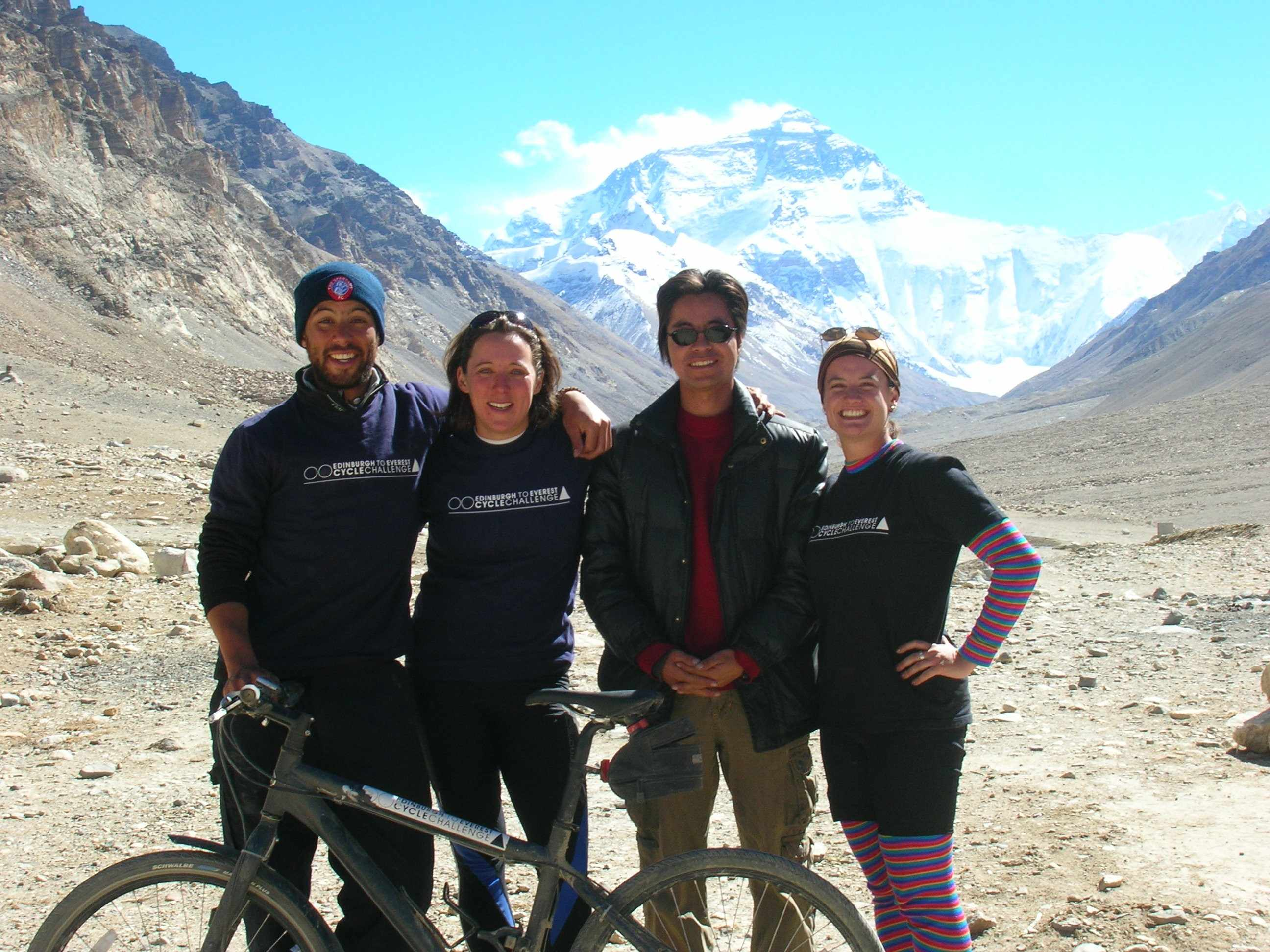 The Edinburgh to Everest team reach their goal