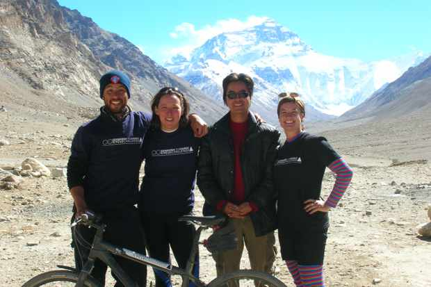 The Edinburgh to Everest team reach their goal