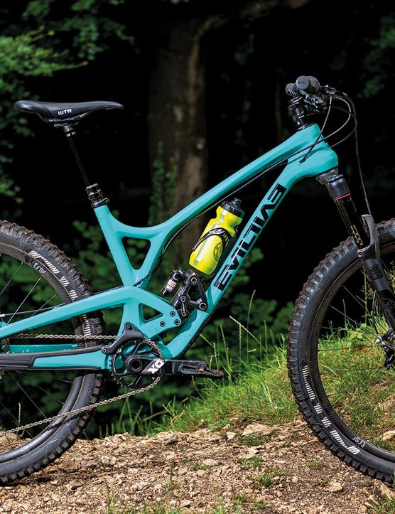 The Calling doesn't shy away from terrain that you might think only a longer-travel bike could handle