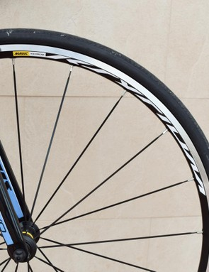 These are the most basic of Mavic Ksyrium wheel line-up, but they do the job well enough