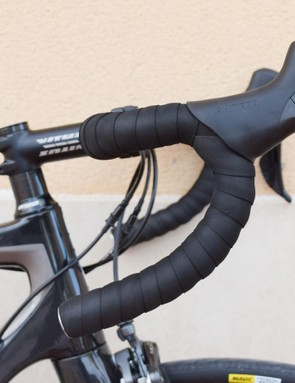 The alloy bars have a nice ergo bend to them