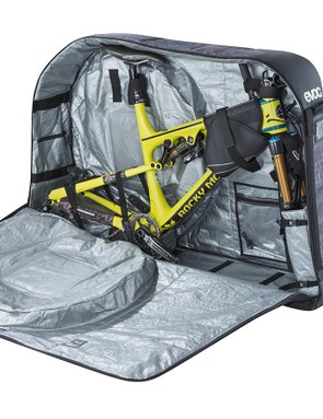 The design securely stows your frame along with any bits of kit you may want to throw in