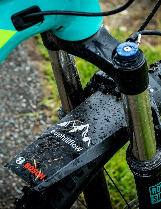Bosch uses the term #uphillflow to describe the feel of riding a bike with its system, and first impressions suggest it's not wrong