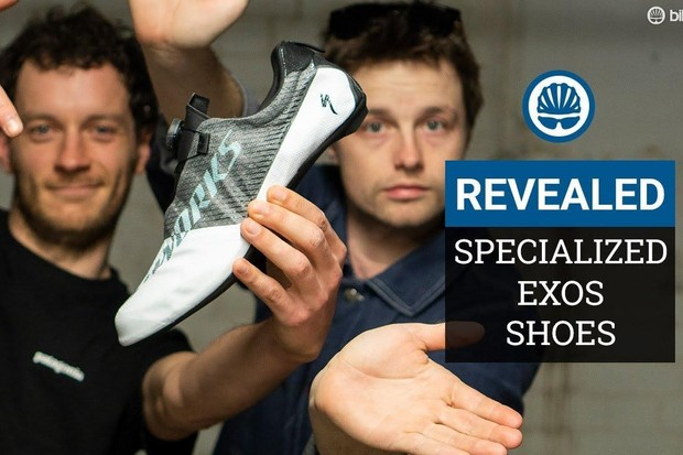 Jack and Joe get hands on with Specialized's new EXOS shoes