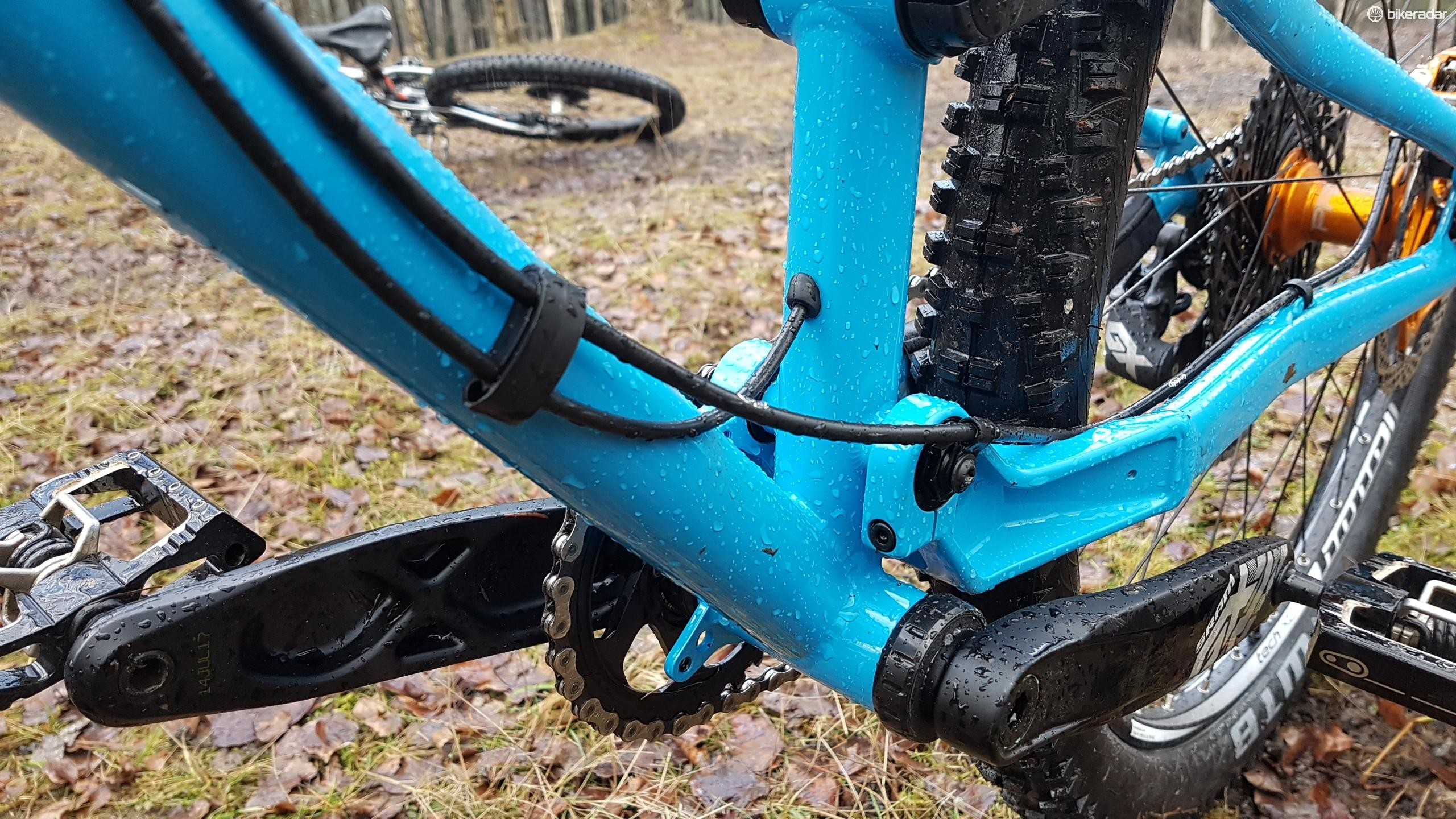External cable routing will draw fans, as will the neat routing clips and fixings