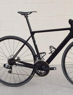 The Factor O2 Disc Project build weighs just 5.1 kg
