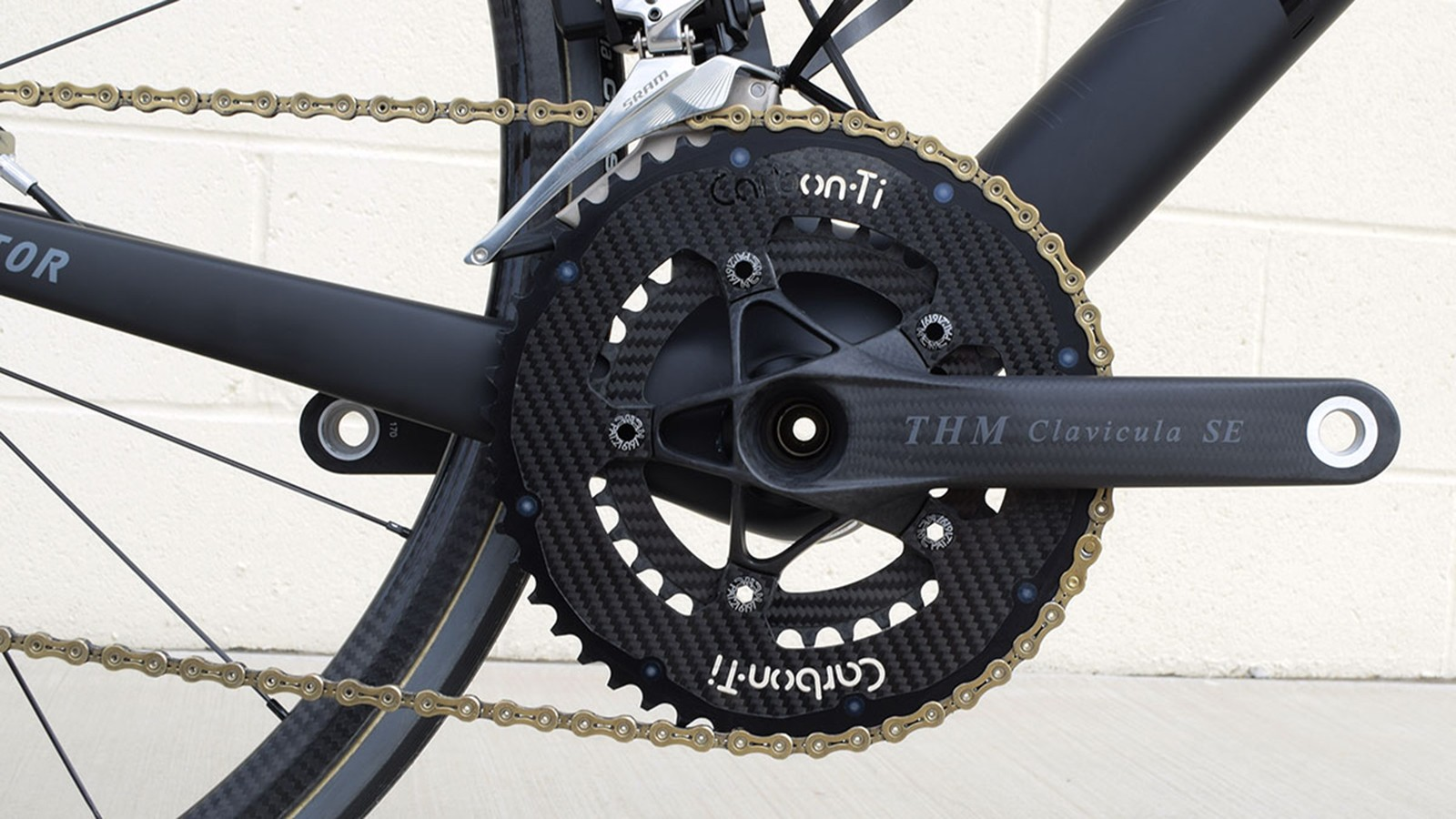 Thm Clavicula SE cranks with some Carbon-ti and Fibrelyte chainrings