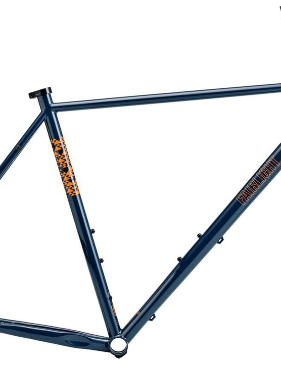 The Faran is also available as frameset in either this dark blue...