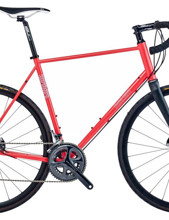 all of the bikes are available in a number of colour options and we like the look of this coral number