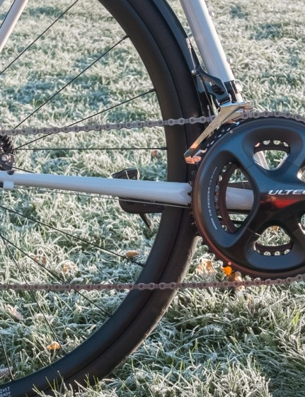 No complaints with the groupset either