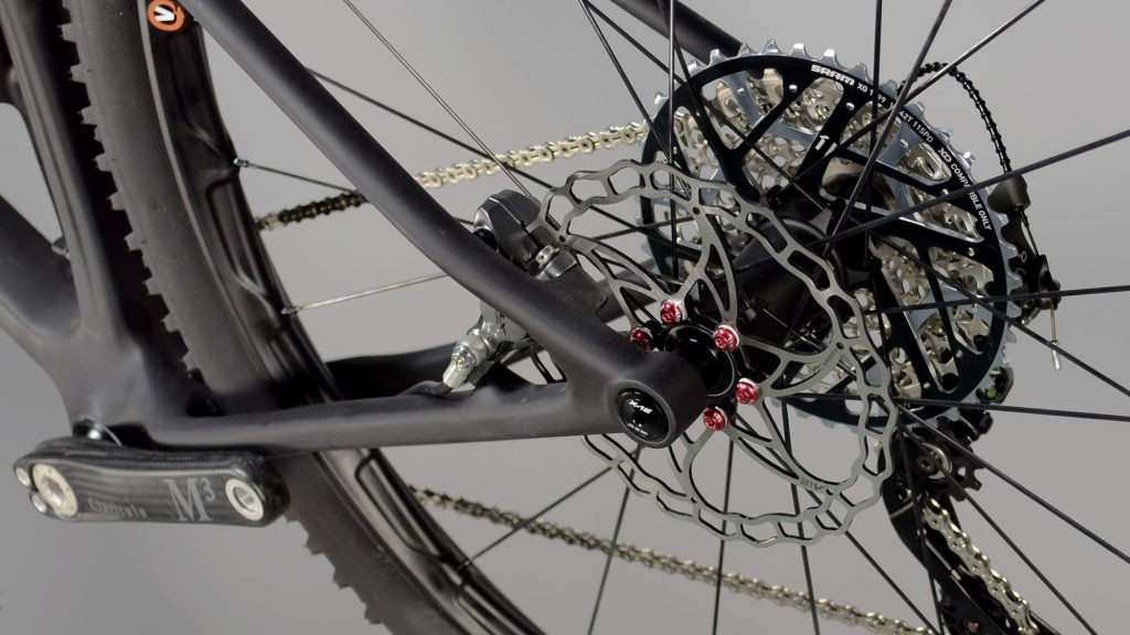 Fair Wheel has mixed and matched component brands for minimal weight