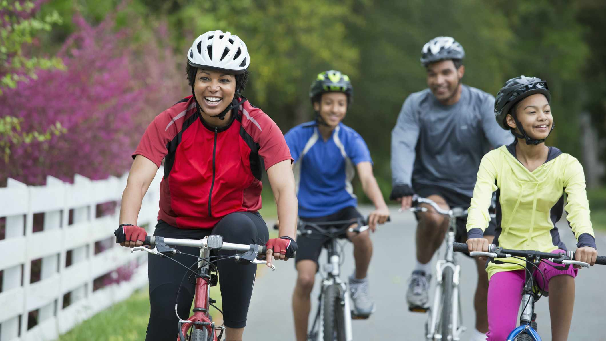 Here are some great cycle rides for families