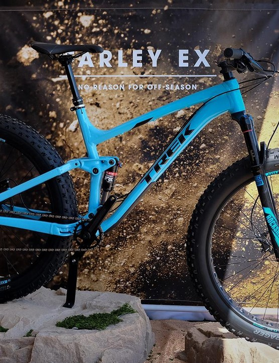 The Farley EX 8 has a full alloy frame