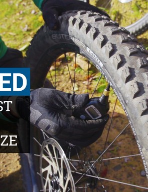What's the fastest tyre size for mountain biking?